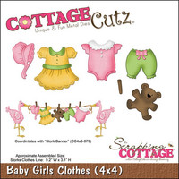 Cottage Cutz - Baby Girl Clothes, Stanssisetti