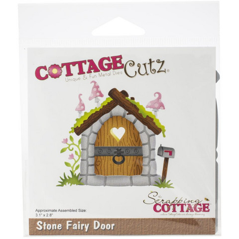 Cottage Cutz - Fairy Door, Stanssisetti