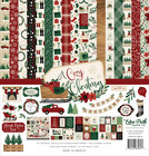 Echo Park - A Cozy Christmas Collection Kit 12
