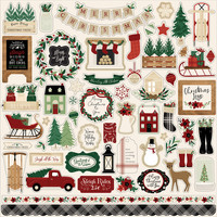Echo Park - A Cozy Christmas Element Sticker 12