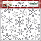 Echo Park - A Cozy Christmas, Cheerful Snowflake, Sapluuna 6