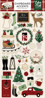 Echo Park - A Cozy Christmas Chipboard 6
