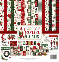 Echo Park - Here Comes Santa Claus Collection Kit 12