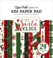 Echo Park - Here Comes Santa Claus Double-Sided Paper Pad 6