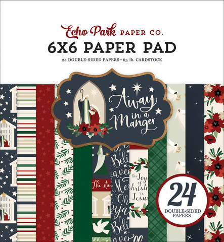 Echo Park - Away in a Manger Double-Sided Paper Pad 6