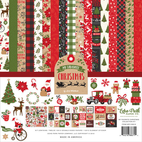 Echo Park - My Favorite Christmas Collection Kit 12