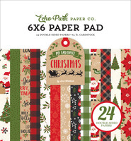 Echo Park - My Favorite Christmas Double-Sided Paper Pad 6