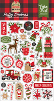 Echo Park - My Favorite Christmas, Puffy Stickers