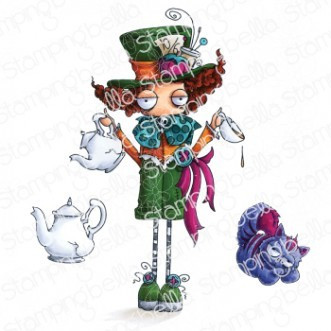 Stamping Bella - Oddball The Mad Hatter, Leimasetti