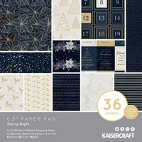 Kaisercraft - Starry Night, Paperikko, 6.5