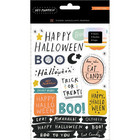 American Crafts - Hey, Pumpkin Sticker Book, Tarrasetti
