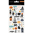 American Crafts - Hey, Pumpkin Puffy Stickers, Tarra-arkki