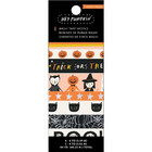 American Crafts - Hey, Pumpkin Washi Tape, Teippisetti, 8 rullaa