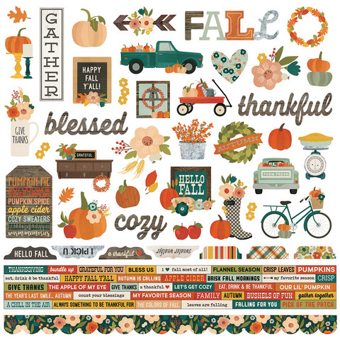 Simple Stories - Fall Farmhouse Combo Sticker 12