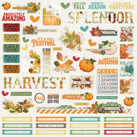 Simple Stories - Autumn Splendor Combo Sticker 12