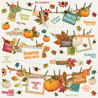Simple Stories - Autumn Splendor Banner Sticker 12
