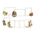 Simple Stories - Autumn Splendor Layered Frames Die-Cuts, 6 kpl