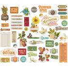 Simple Stories - Autumn Splendor  Bits & Pieces Die-Cuts, 48 osaa
