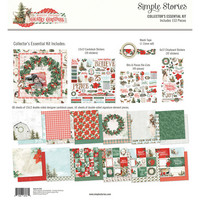 Simple Stories - Country Christmas Collector's Essential Kit 12