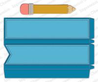 Impression Obsession - Pencil Favor Box, Stanssisetti