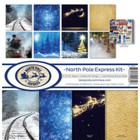 Reminisce - North Pole Express, Collection Kit 12