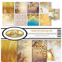 Reminisce - Gold Christmas, Collection Kit 12