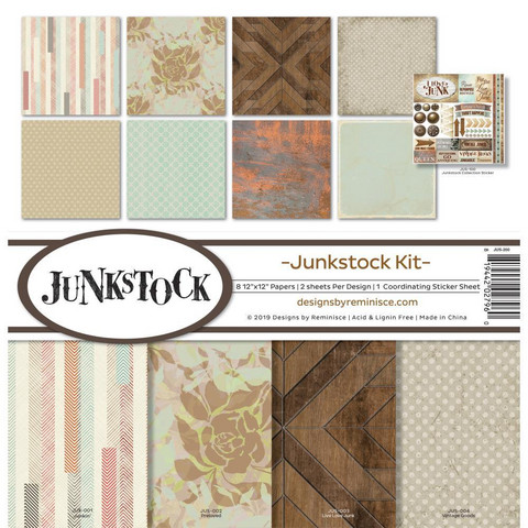 Reminisce - Junkstock, Collection Kit 12