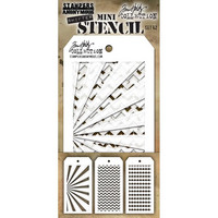 Tim Holtz - Mini Layered Stencil, Set #42