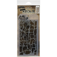 Tim Holtz - Layered Stencil, Decayed