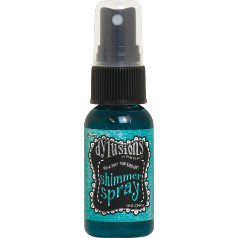 Dylusions - Shimmer Sprays, Vibrant Turquoise, 29ml