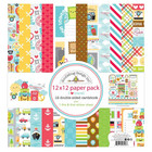 Doodlebug - I Heart Travel, Double-Sided Paper Pack 12