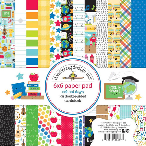 Doodlebug - School Days, Double-Sided Paper Pad 6