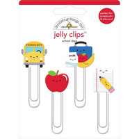Doodlebug - School Days, Jelly Clips, 4 kpl