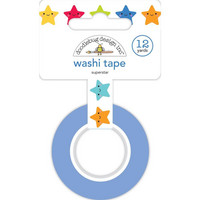 Doodlebug - School Days, Washi Tape 15mmX11m, Super Star