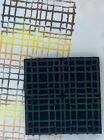 ArtFoamies - Rebekah Meier: Cross-Grid, Vaahtomuovileimasin