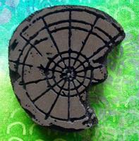 ArtFoamies - Rebekah Meier: Death Star Explosion, Vaahtomuovileimasin