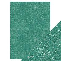 Tonic - Glitterkartonki, Turquoise Lake, A4, 5 arkkia