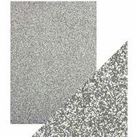 Tonic - Glitterkartonki, Silver Screen, A4, 5 arkkia