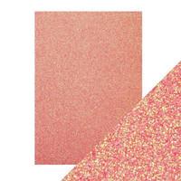 Tonic - Glitterkartonki, Candy Floss, A4, 5 arkkia