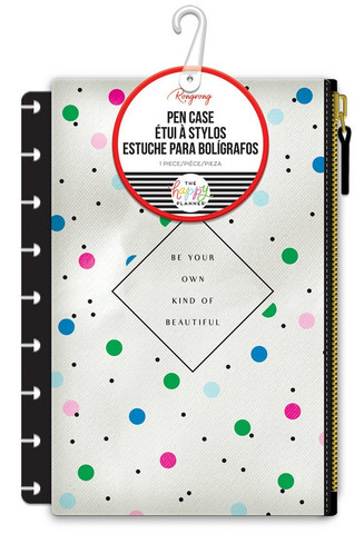 MAMBI - Happy Planner Multi Dots Rongrong Snap-In Pen Case