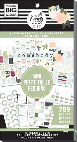 MAMBI - Happy Planner ISO tarrasetti, HomeBody - Mini, 30arkkia