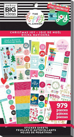 MAMBI - Happy Planner tarrasetti, Christmas Joy, 30arkkia