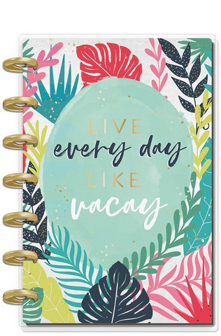 MAMBI - MINI Happy Planner 2020, Vacation Vibes, päivätty