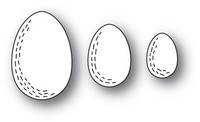 Poppy Stamps - Whittle Eggs, Stanssisetti