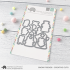 Mama Elephant - Snow Friends, Creative Cuts, Stanssisetti