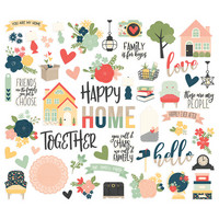 Simple Stories - So Happy Together, Bits & Pieces Die-Cuts, 56 osaa