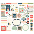Simple Stories - So Happy Together, Journal Bits & Pieces Die-Cuts, 49 osaa