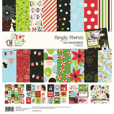 Simple Stories - Say Cheese Christmas Collection Kit 12