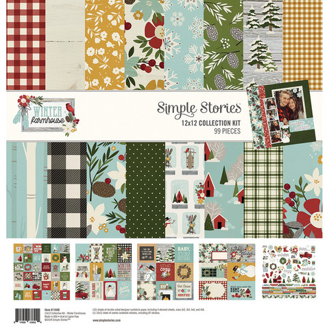 Simple Stories - Winter Farmhouse Collection Kit 12