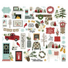 Simple Stories - Winter Farmhouse, Bits & Pieces Die-Cuts, 54 osaa
